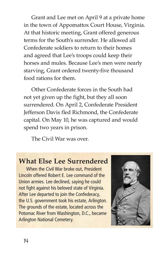 Book Preview For 1865: The End of the Civil War Page 14