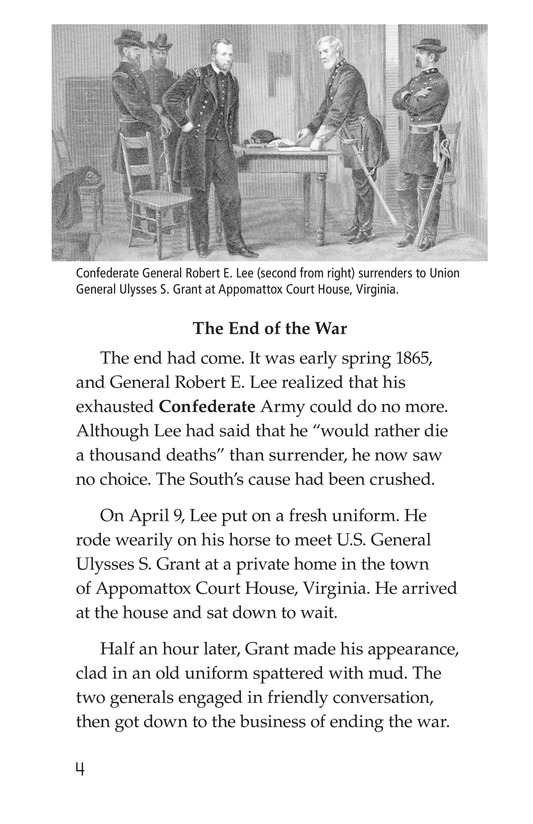Book Preview For 1865: The End of the Civil War Page 4