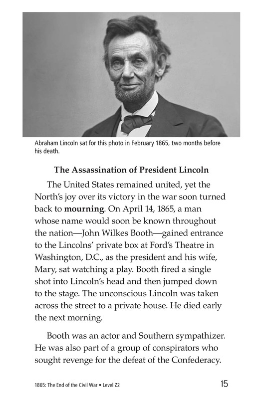 Book Preview For 1865: The End of the Civil War Page 15