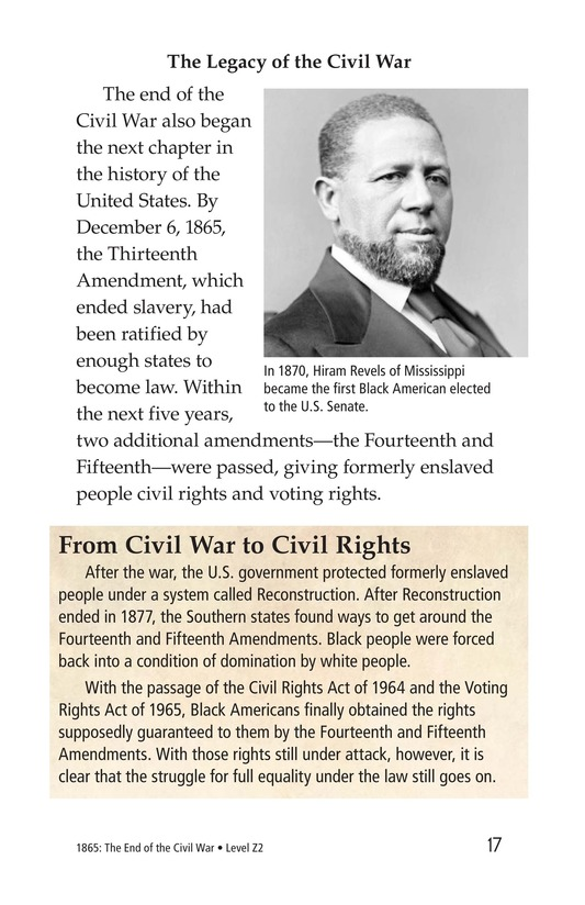 Book Preview For 1865: The End of the Civil War Page 17