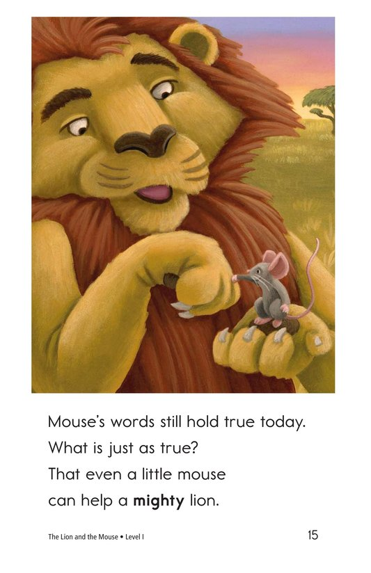 Book Preview For The Lion and the Mouse Page 15