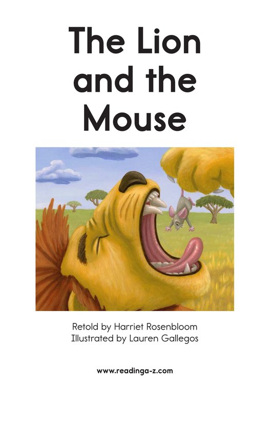 Book Preview For The Lion and the Mouse Page 2