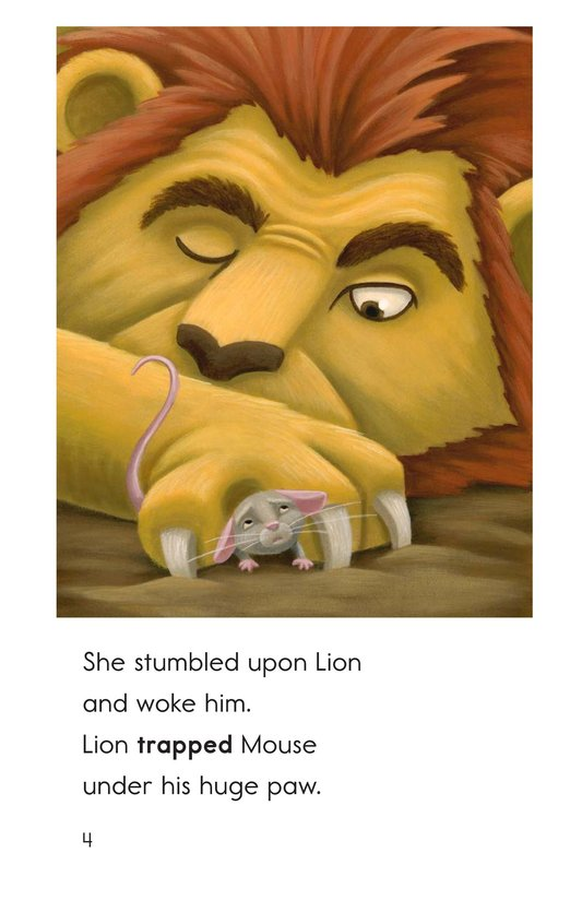 Book Preview For The Lion and the Mouse Page 4
