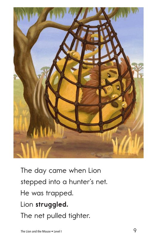 Book Preview For The Lion and the Mouse Page 9