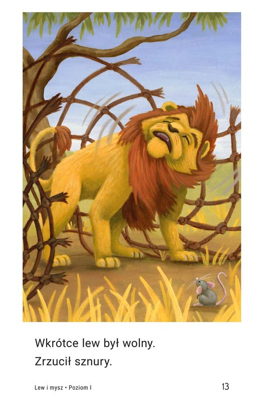 Book Preview For The Lion and the Mouse Page 13