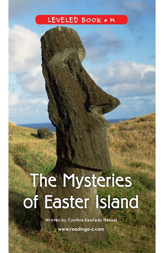 Book Preview For The Mysteries of Easter Island Page 1