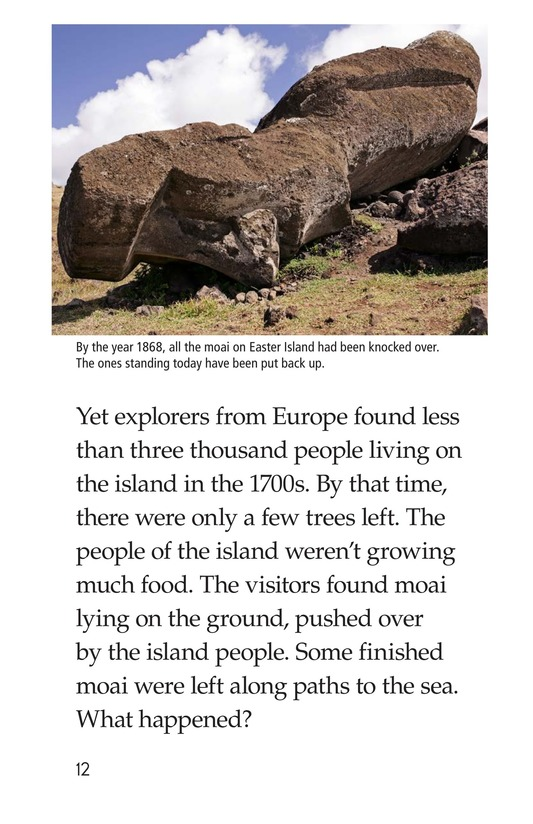 Book Preview For The Mysteries of Easter Island Page 12