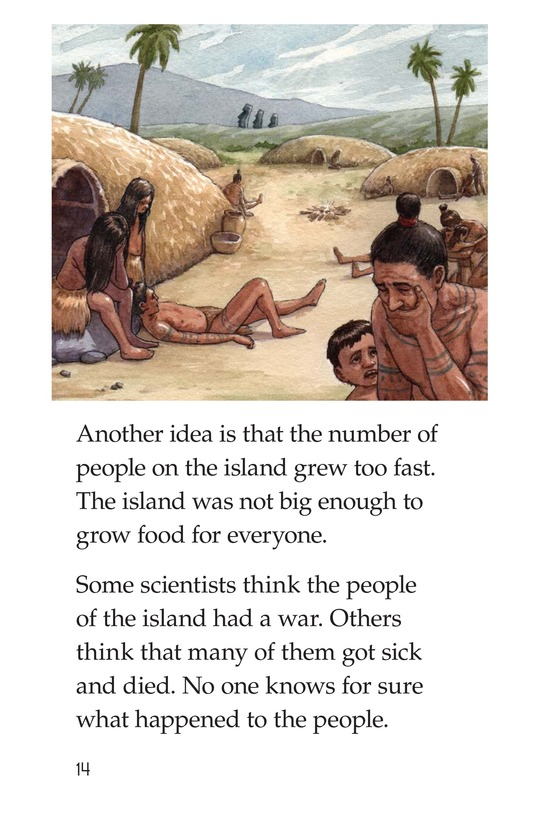 Book Preview For The Mysteries of Easter Island Page 14