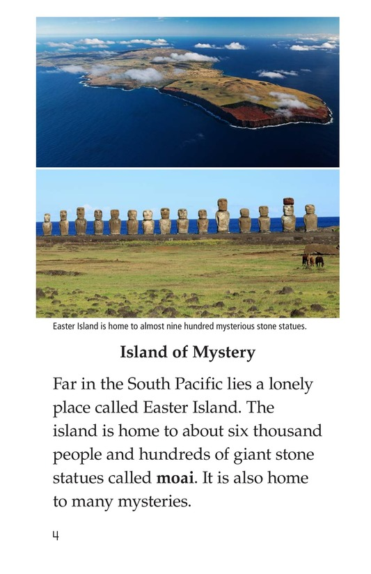 Book Preview For The Mysteries of Easter Island Page 4