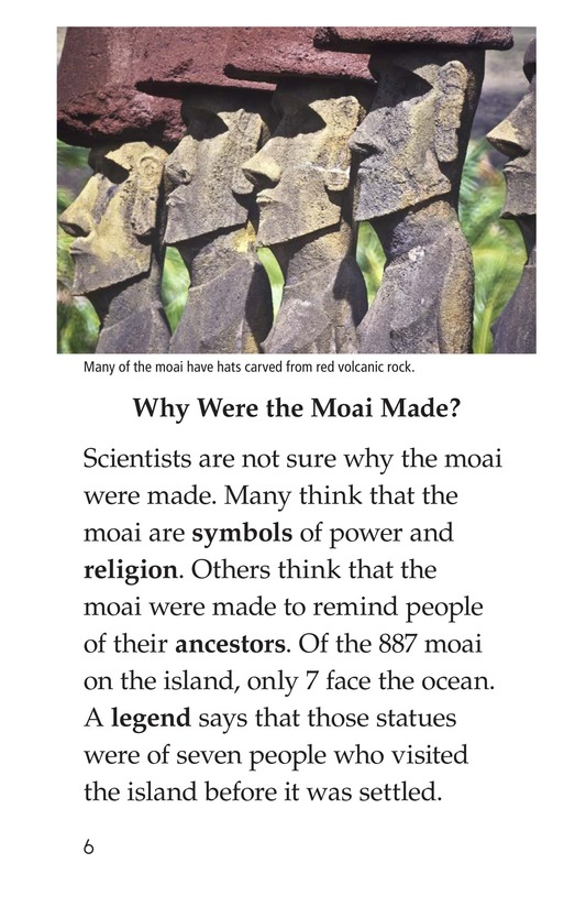 Book Preview For The Mysteries of Easter Island Page 6