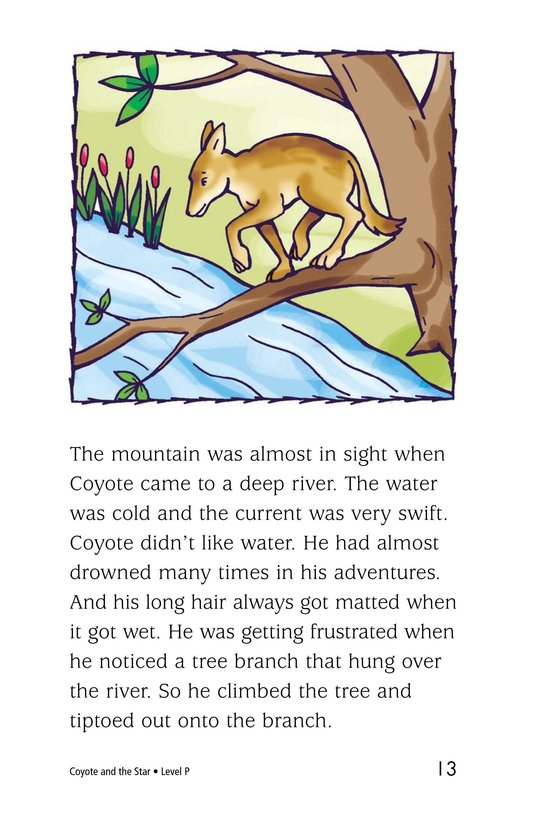 Book Preview For Coyote and the Star Page 13