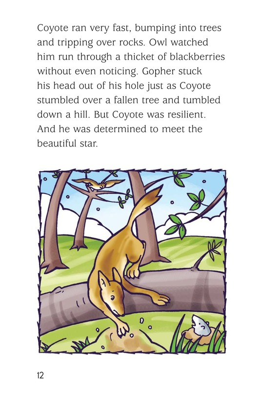 Book Preview For Coyote and the Star Page 12