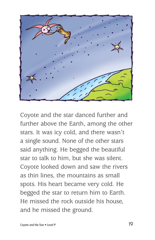 Book Preview For Coyote and the Star Page 19