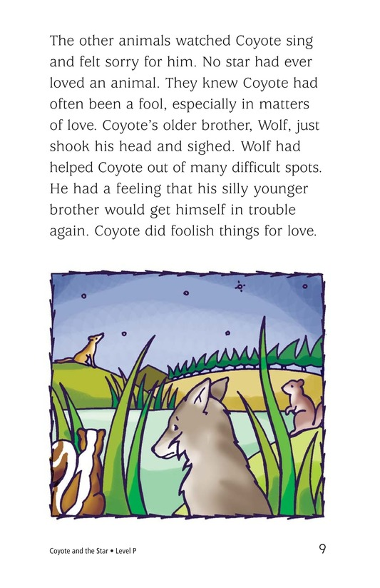 Book Preview For Coyote and the Star Page 9