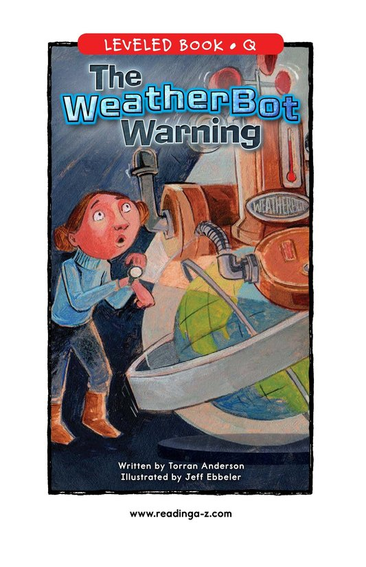 Book Preview For The WeatherBot Warning Page 1