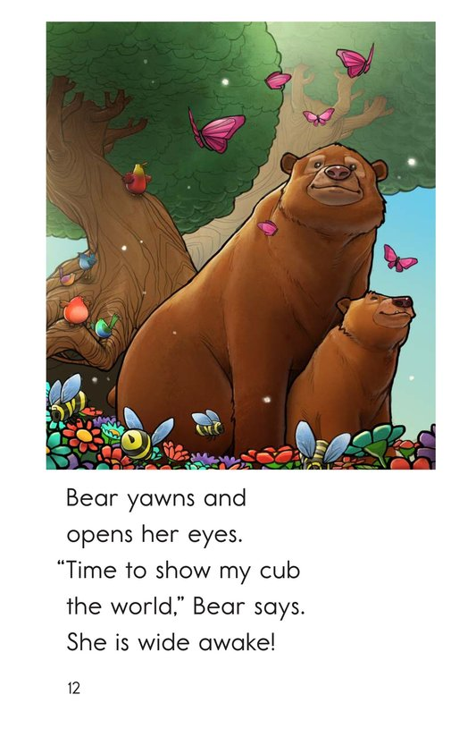 Book Preview For Wake Up, Bear! Page 12