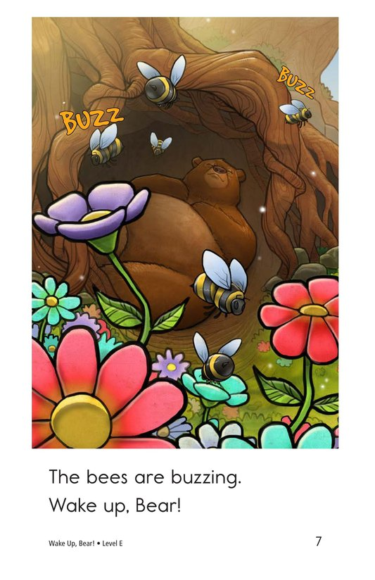 Book Preview For Wake Up, Bear! Page 7
