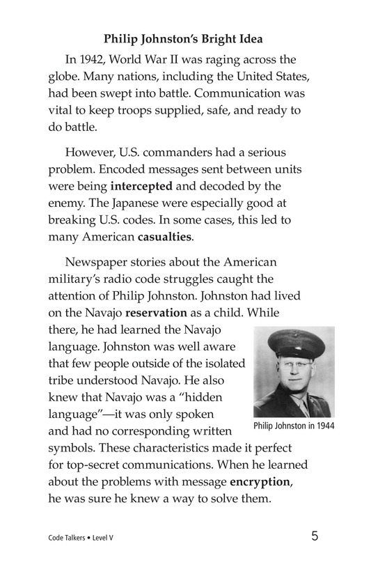 Book Preview For Code Talkers Page 5