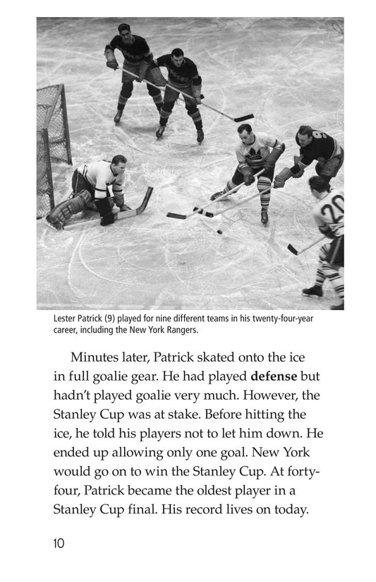 Book Preview For The Stanley Cup: Hockey's Greatest Prize Page 10