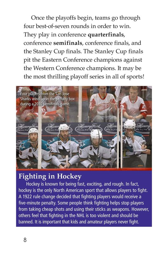 Book Preview For The Stanley Cup: Hockey's Greatest Prize Page 8