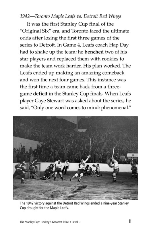 Book Preview For The Stanley Cup: Hockey's Greatest Prize Page 11