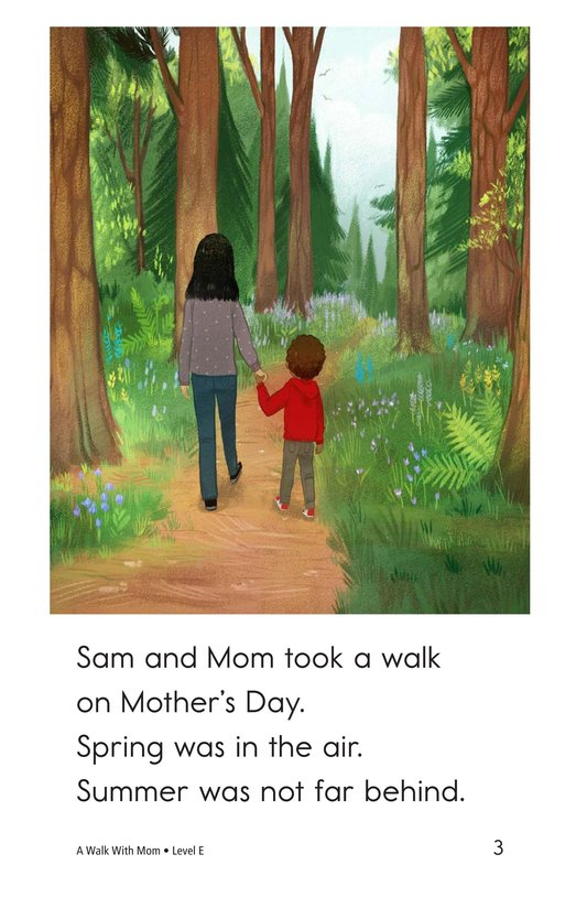 Book Preview For A Walk With Mom Page 3