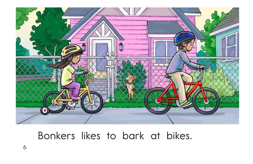 Book Preview For Bonkers Likes to Bark Page 6