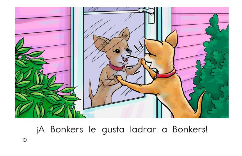 Book Preview For Bonkers Likes to Bark Page 10