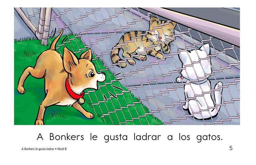 Book Preview For Bonkers Likes to Bark Page 5