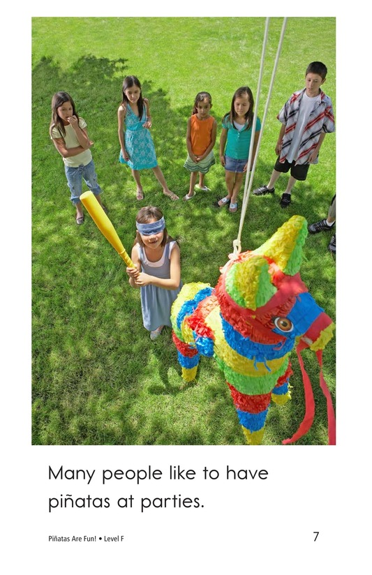 Book Preview For Piñatas Are Fun! Page 7