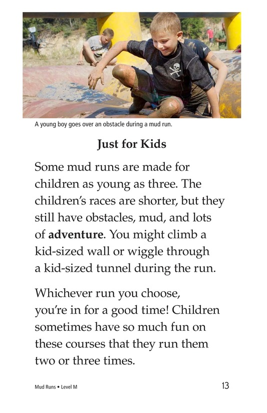 Book Preview For Mud Runs Page 13
