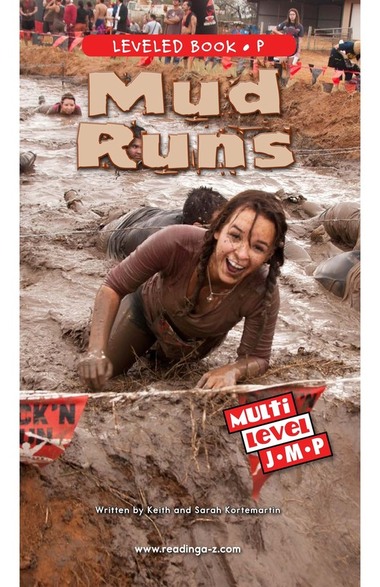 Book Preview For Mud Runs Page 0
