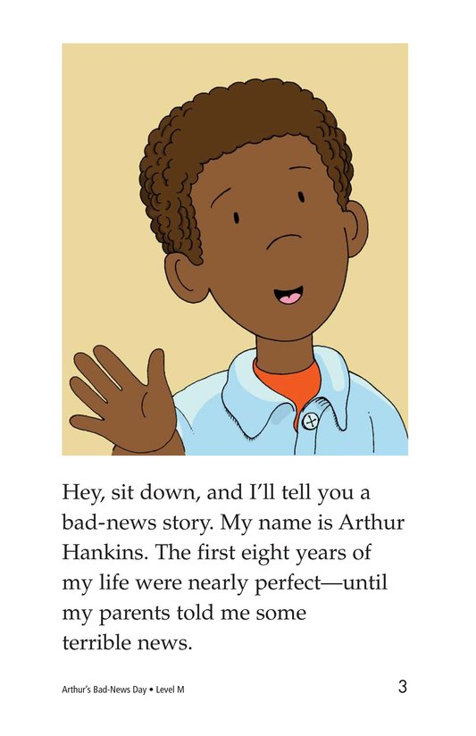 Book Preview For Arthur's Bad-News Day Page 3