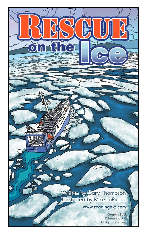 Book Preview For Rescue on the Ice Page 2