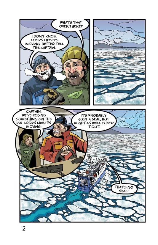 Book Preview For Rescue on the Ice Page 3