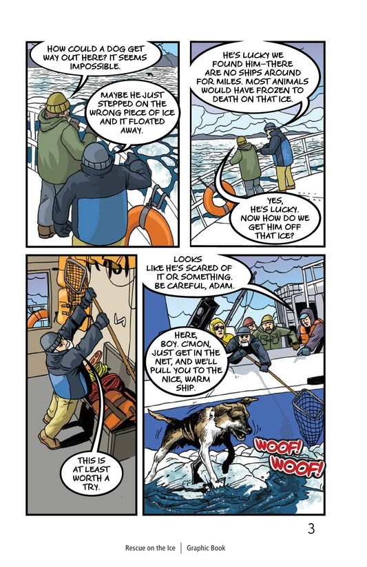Book Preview For Rescue on the Ice Page 4