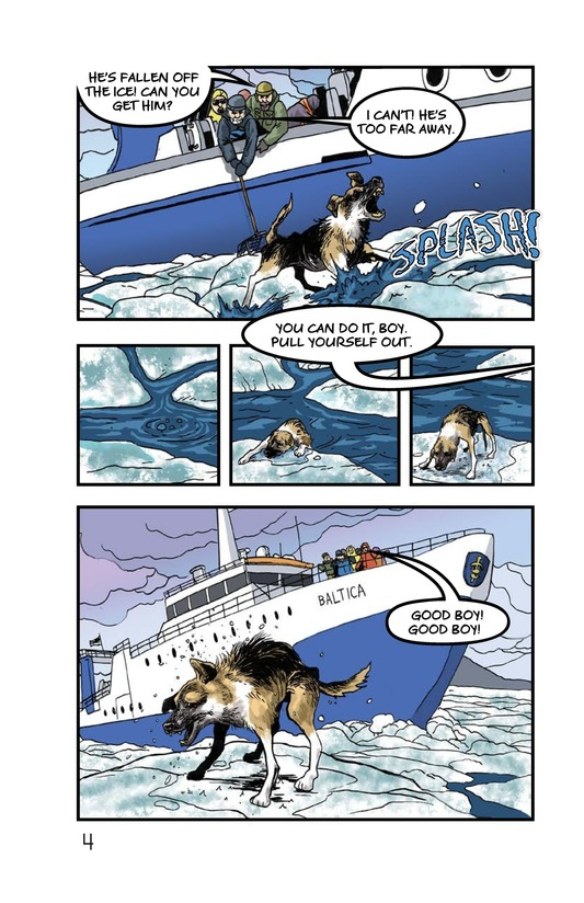 Book Preview For Rescue on the Ice Page 5