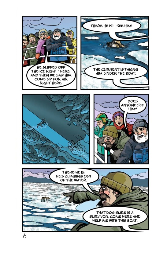 Book Preview For Rescue on the Ice Page 7