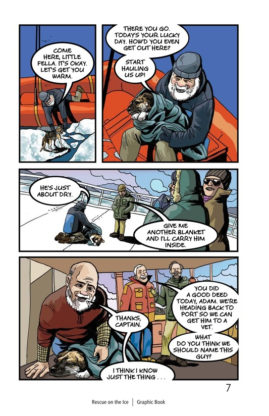 Book Preview For Rescue on the Ice Page 8