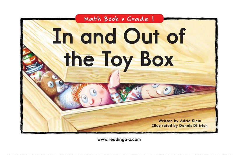 Book Preview For In and Out of the Toy Box Page 0