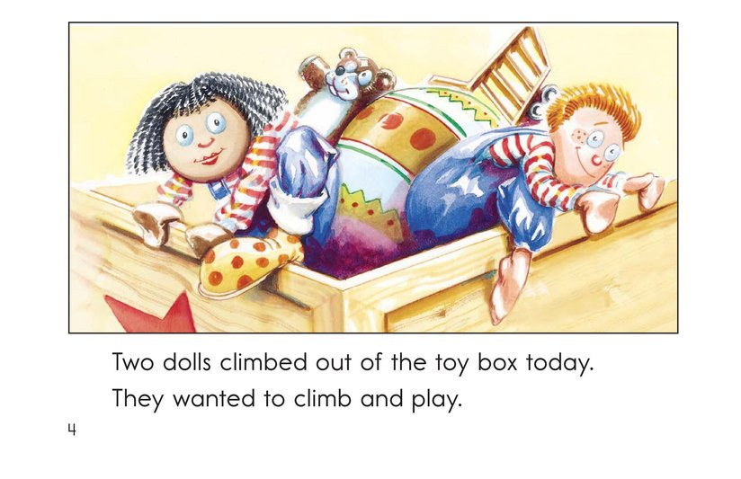 Book Preview For In and Out of the Toy Box Page 4