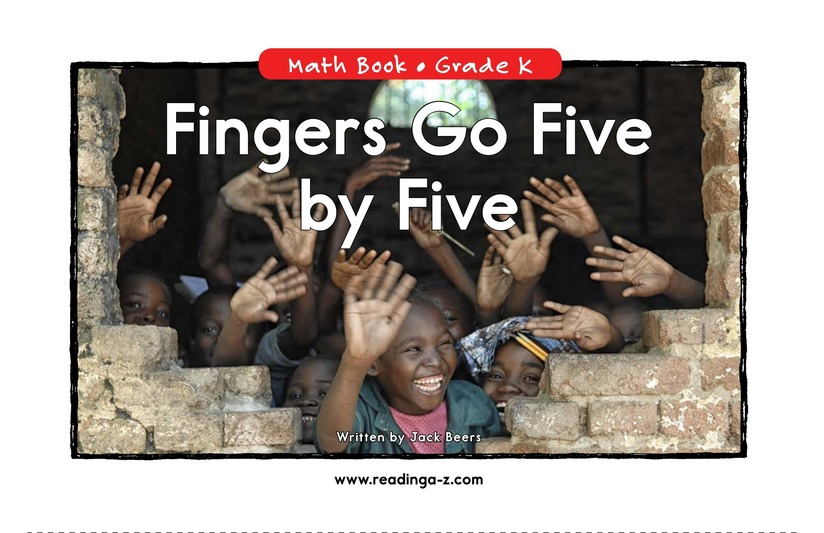 Book Preview For Fingers Go Five by Five Page 1