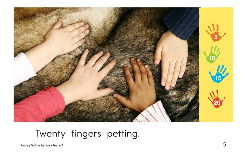 Book Preview For Fingers Go Five by Five Page 6