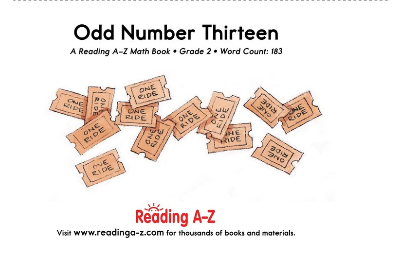Book Preview For Odd Number Thirteen Page 17