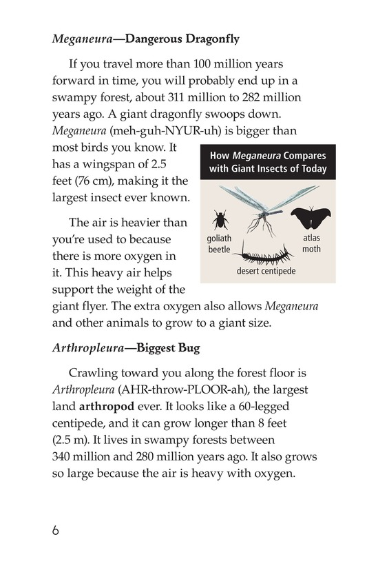 Book Preview For Prehistoric Giants (Other Than Dinosaurs) Page 6