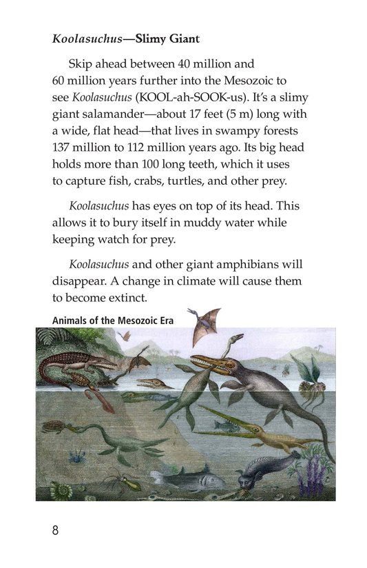 Book Preview For Prehistoric Giants (Other Than Dinosaurs) Page 8