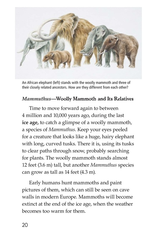 Book Preview For Prehistoric Giants (Other Than Dinosaurs) Page 20