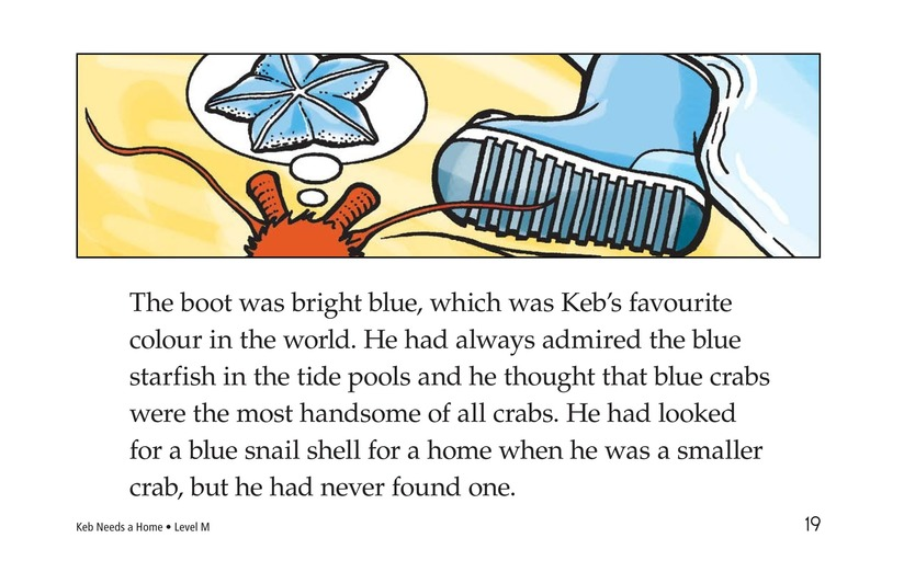 Book Preview For Keb Needs a Home Page 19