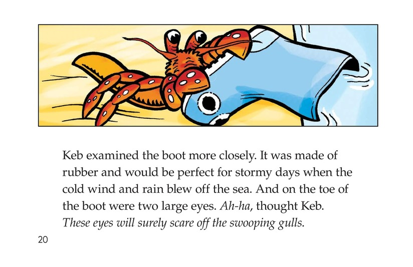 Book Preview For Keb Needs a Home Page 20