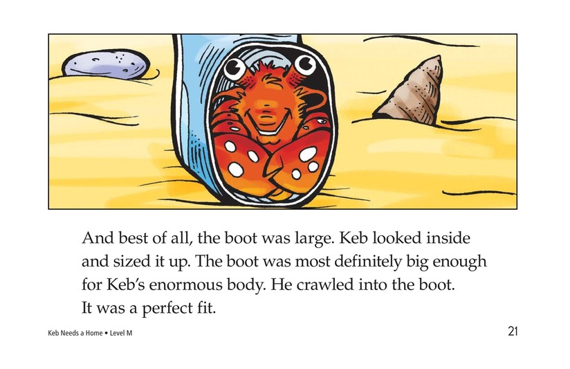 Book Preview For Keb Needs a Home Page 21